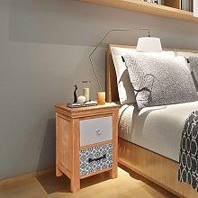 vidaXL Drawer Cabinet 34x34x46 cm Solid Wood
