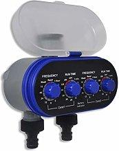 vidaXL Electronic Water Timer Irrigation Timer