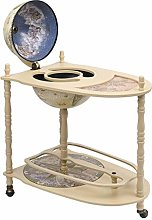 vidaXL Eucalyptus Wood Furniture Bar Stand Stand
