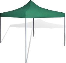 vidaXL Foldable Tent 3x3 m Green