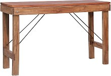 vidaXL Folding Console Table 130x40x80 cm Sold