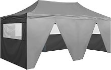 vidaXL Folding Pop-up Party Tent with Sidewalls