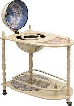 vidaXL Freestanding Globe Bar Wind Stand