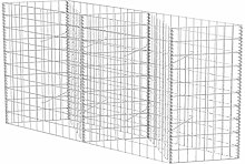 vidaXL Gabion Basket/Planter/Raised Vegetable Bed