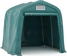 vidaXL Garage Tent Fabric PVC Green