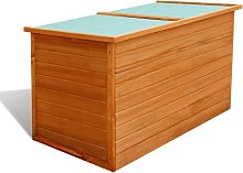vidaXL Garden Storage Box 126x72x72 cm Wood