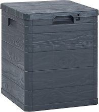 vidaXL Garden Storage Box 90 L Anthracite