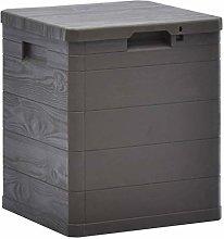 vidaXL Garden Storage Box 90L Brown Garden Tool