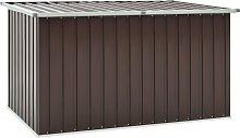 vidaXL Garden Storage Box Brown 171x99x93 cm