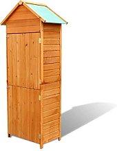 vidaXL Garden Wooden Cabinet Waterproof Outdoor