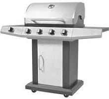 Vidaxl - Gas Barbecue BBQ Grill 4 + 1 Cooking Zone