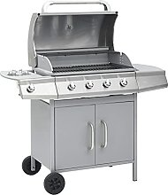 vidaXL Gas Barbecue Grill Outdoor BBQ Grill Gas