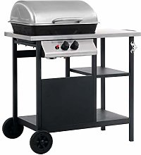 vidaXL Gas BBQ Barbecue Freestanding Grill with