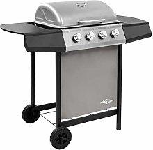 vidaXL Gas BBQ Grill with 4 Burners Stylish