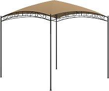 vidaXL Gazebo 3x3x2.65 m Taupe 180 g/m²