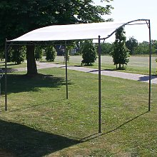 vidaXL Gazebo Roof Beige 3x2.5 m Fabric