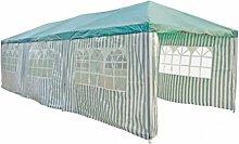 vidaXL Green Party Tent 3 x 9 m