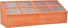 vidaXL Greenhouse Wood 180x57x62 cm
