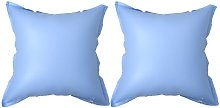 vidaXL Inflatable Winter Air Pillows for Above-Ground Pool Cover 2 pcs - Blue