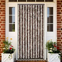 vidaXL Insect Curtain Beige and Light Brown 90x200