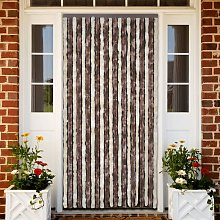 vidaXL Insect Curtain Chenille Beige and Light