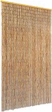 vidaXL Insect Door Curtain Bamboo 100x200 cm -
