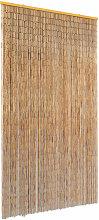 vidaXL Insect Door Curtain Bamboo 100x220 cm -