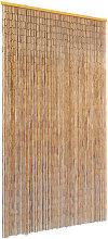 vidaXL Insect Door Curtain Bamboo 100x220 cm