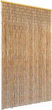 vidaXL Insect Door Curtain Bamboo 120x220 cm