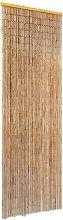 vidaXL Insect Door Curtain Bamboo 56x185 cm - Brown