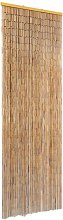 vidaXL Insect Door Curtain Bamboo 56x185 cm