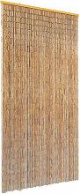 vidaXL Insect Door Curtain Bamboo 90x220 cm