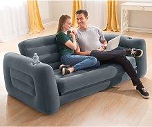 vidaXL Intex Pull-Out Chair 203x231x66 cm Dark Grey