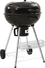 vidaXL Kettle Charcoal BBQ Grill Barbecue Stand