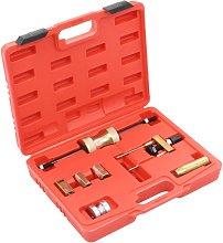 vidaXL Laser Injector Puller Tool Set Carbon Steel