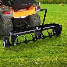 vidaXL Lawn Aerator for Ride-on Mower 102 cm