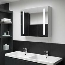 Vidaxl - LED Bathroom Mirror Cabinet 89x14x62 cm
