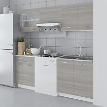 vidaXL Oak Look Kitchen Cabinet Unit 5 pcs 200 cm