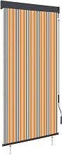 vidaXL Outdoor Roller Blind 100x250 cm Yellow and