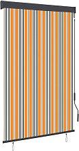 vidaXL Outdoor Roller Blind 120x250 cm Yellow and
