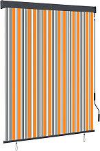 vidaXL Outdoor Roller Blind 140x250 cm Yellow and