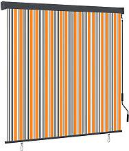 vidaXL Outdoor Roller Blind 160x250 cm Yellow and