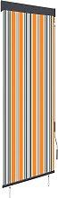 vidaXL Outdoor Roller Blind 60x250 cm Yellow and
