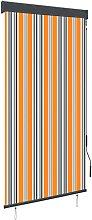 vidaXL Outdoor Roller Blind 80x250 cm Yellow and