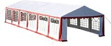 vidaXL Party Tent 12 x 6 m Red - Red