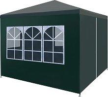 vidaXL Party Tent 3x3 m Green