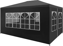 vidaXL Party Tent 3x4 m Anthracite