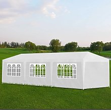 vidaXL Party Tent 3x9 m White