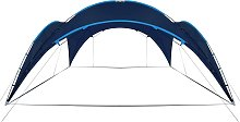 vidaXL Party Tent Arch 450x450x265 cm Dark Blue