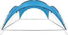 vidaXL Party Tent Arch 450x450x265 cm Light Blue